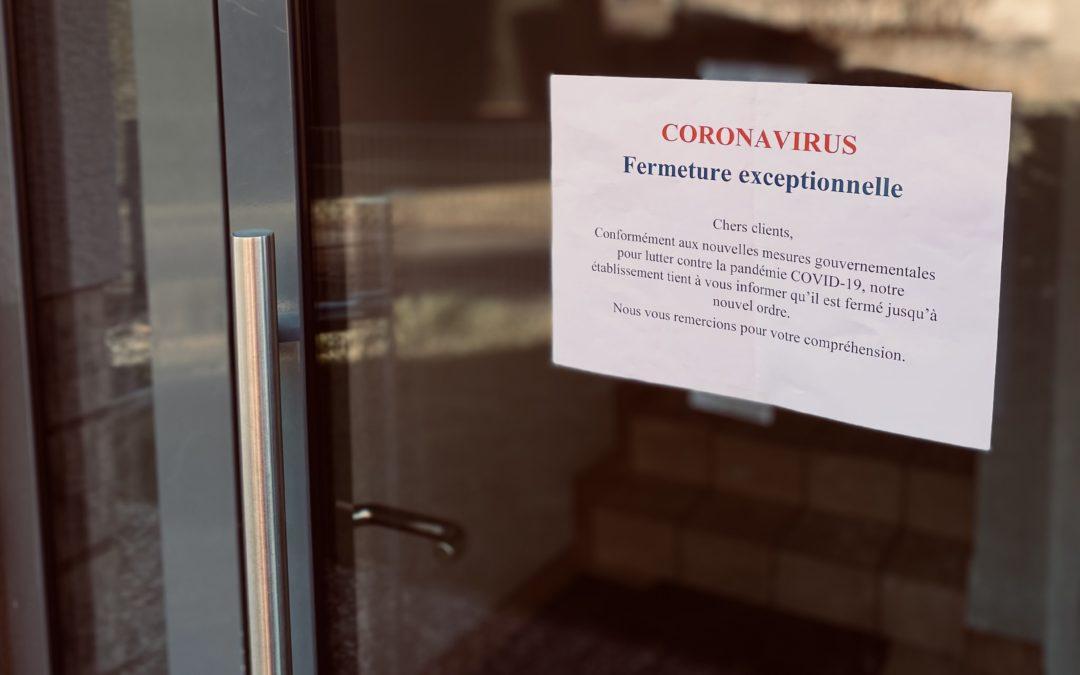 Bail: une lueur d'espoir pour les restaurateurs et autres commerçants impactés directement par la fermeture obligatoire liée aux mesures sanitaires COVID-19